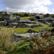 Not even recognisable as a Bronze Age village now.
