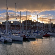 Sunset at Ramsgate Marina