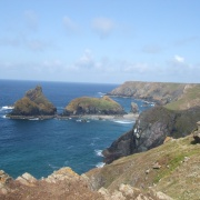 Kynance Cove - first view