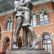 The meeting place, St Pancras Station