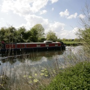 Houseboat on the River Nene