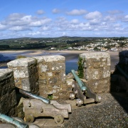 Looking out over Marazion.