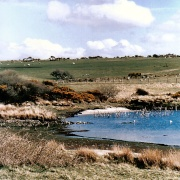 Collieford lake in the moor.