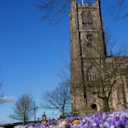 Lancaster Cathedral in Early Spring