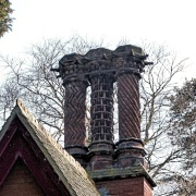 Ornate Chimneys in Fritton