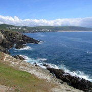 South West Coast path from Morte Point to Woolacoombe