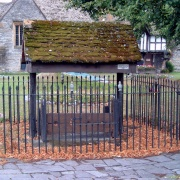 Evesham village stocks