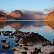 Wast Water, Lake District, Cumbria, UK