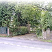 Entry to Greenhead Manor
