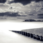 Hastings Pier, East Sussex, UK