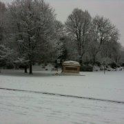 Queens Park in the Snow