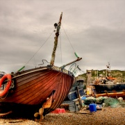 Hastings Fishing Boats