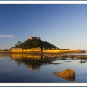St Michaels Mount at Sunrise