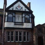A building in Leek, Staffordshire