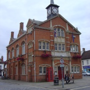 Town Hall in Thame, Oxon