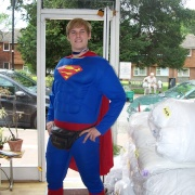 SUPERMAN CLEANS UP IN GREAT BOOKHAM