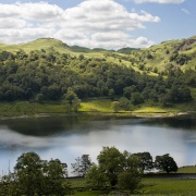 Rydal Water from the Coffin Road