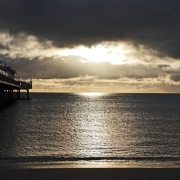 Paignton pier this morning