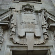 A detail of the Ashton Memorial