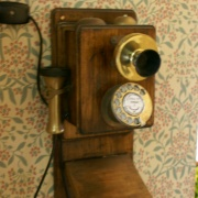 Ye old telephone, Crook Hall