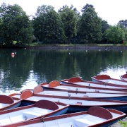 Boating at Valentines Park, Ilford