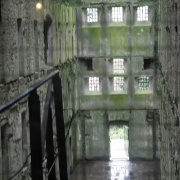 View of inner floor levels from main jail