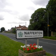 Nafferton sign