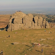 Haytor Rock, Dartmoor National Park, Devon