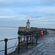 The South Pier at South Shields