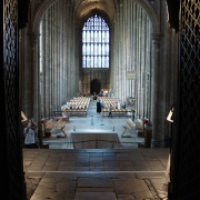 The nave of the Cathedral, Canterbury