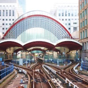 Canary Wharf Station, London