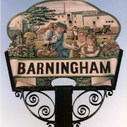 Barningham Village Sign