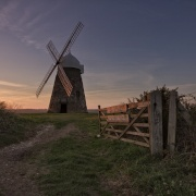 Sunset at Halnaker Windmill