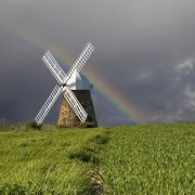Halnaker Windmill after the storm
