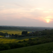 Sunset over Darland