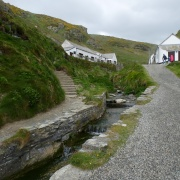 Time for a cuppa and a souvenir at Tintagel
