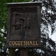 Coggeshall village sign