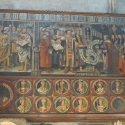 Chichester Cathedral  Tudor Paintings