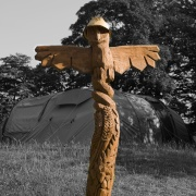 Rydal Park carving