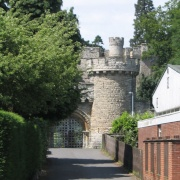 Devizes Castle Entrance - June 2003