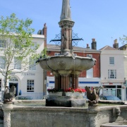 Estcourt Fountain - Devizes - June 2003