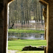 Minster Lovell Hall, Floods