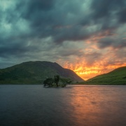 Crummock waters