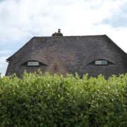A Sinister Looking House at West Itchenor, West Sussex