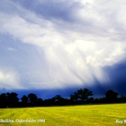 A Storm Brewing !! nr Beckley, Oxfordshire 1994
