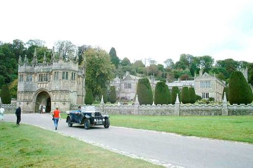 Lanhydrock House in Bodmin, Cornwall