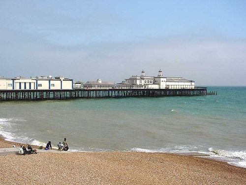 The pier at Hastings, Sussex