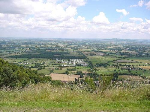 A view across Worcestershire