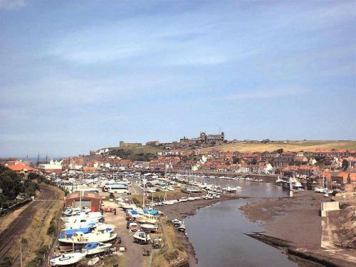 The Esk at Whitby