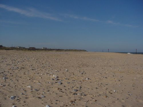 A beach in Great Yarmouth